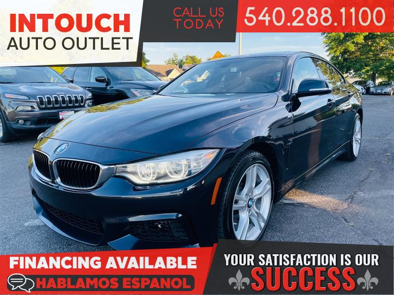 2015 BMW 4 SERIES 428i Xdrive AWD GRAN COUPE w/TECH COLD WEATHER LIGHTENING & M SPORT PACKAGE