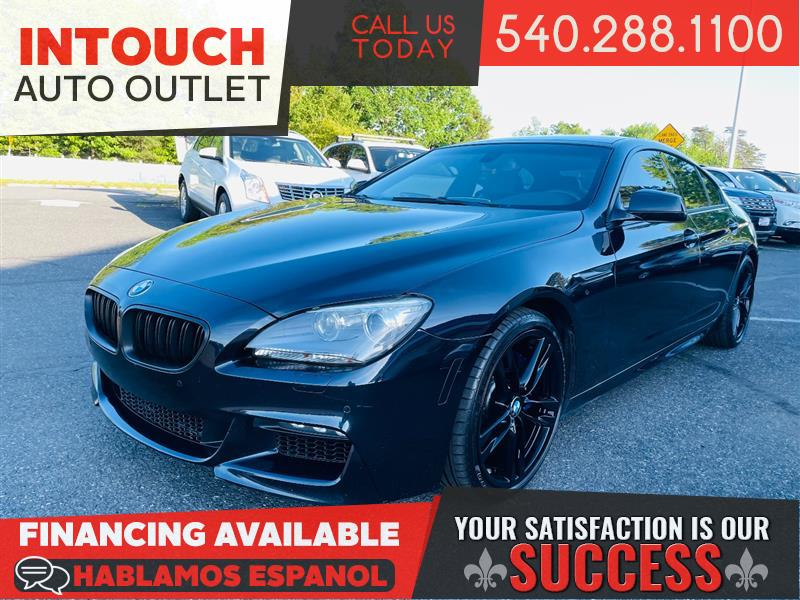 2013 BMW 6 SERIES 650 xDRIVE WITH M SPORT PACKAGE