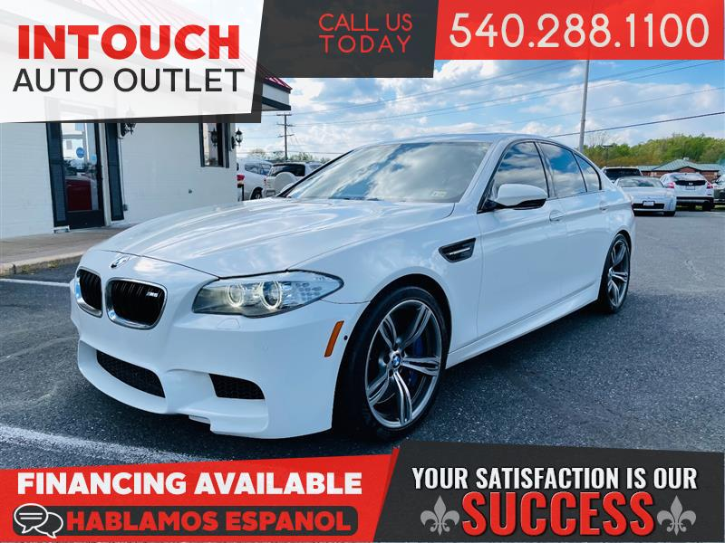 2013 BMW M5 WITH EXECUTIVE & DRIVING ASSISTANCE PACKAGE BANG AND OLUFSON M SPORT WHEELS