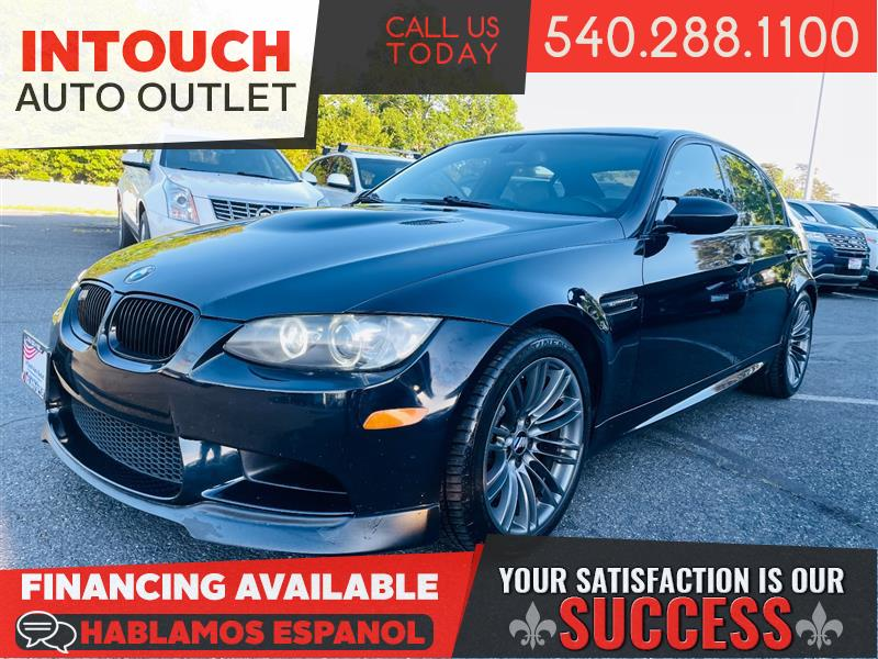 2008 BMW M3 SEDAN WITH PREMIUM AND TECHNOLOGY PACKAGE