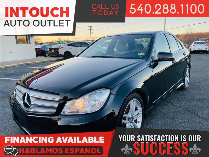 2013 MERCEDES-BENZ C-CLASS C300 4MATIC WITH PREMIUM PACKAGE