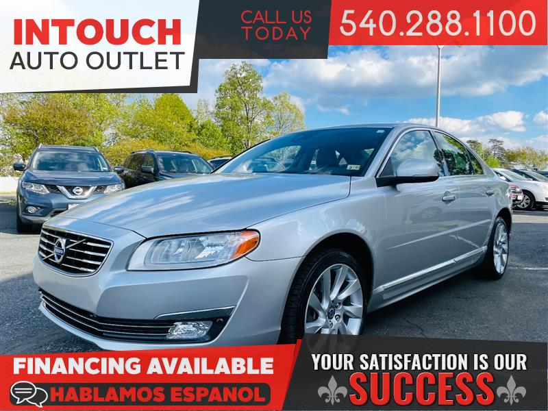 2016 VOLVO S80 T5 DRIVE-E WITH CONVENIENCE PACKAGE
