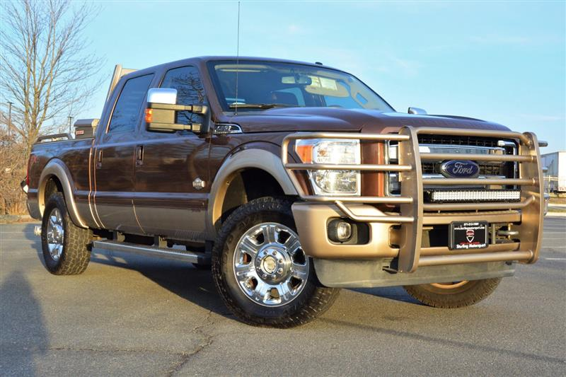 2012 FORD SUPER DUTY F-250 SRW King Ranch Crew Cab 6.7L Powerstroke