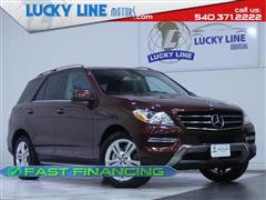 2014 MERCEDES-BENZ M-CLASS ML 350 AWD with NAV