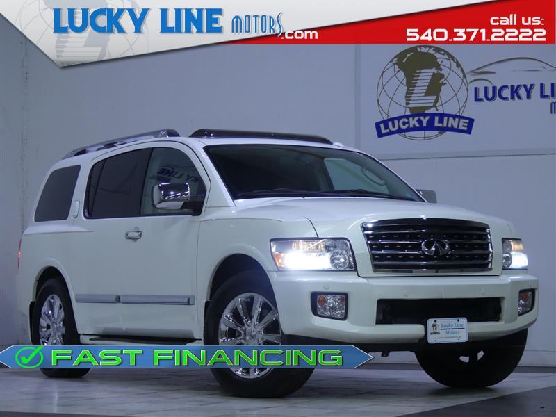 2010 INFINITI QX56 4WD w/Navigation