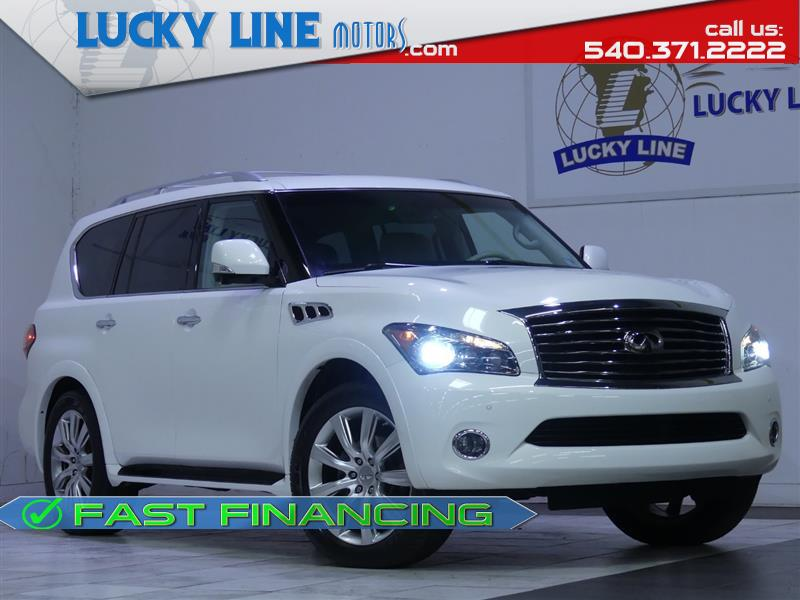 2012 INFINITI QX56 4WD W/ THEATER PACKAGE