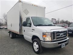 2016 FORD ECONOLINE COMMERCIAL CUTAWAY E 350 SUPER DUTY 15' BOX TRUCK