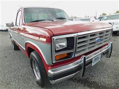 1986 FORD F-SERIES PICKUP