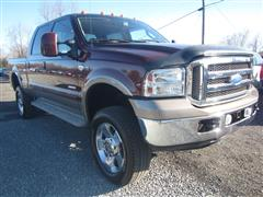 2007 FORD SUPER DUTY F-350 SRW King Ranch CrewCab LB SRW