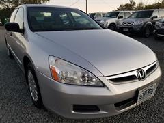 2006 HONDA ACCORD SDN VP
