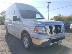 2013 NISSAN NV 2500 HD SV with High Roof