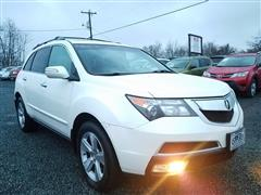 2010 ACURA MDX Technology/Entertainment Pkg