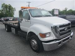 2007 FORD SUPER DUTY F-650 STRAIGHT FRAME xlt