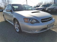 2005 SUBARU LEGACY SEDAN (NATL) GT Ltd