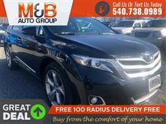 2013 TOYOTA VENZA LIMITED AWD WITH NAVIGATION