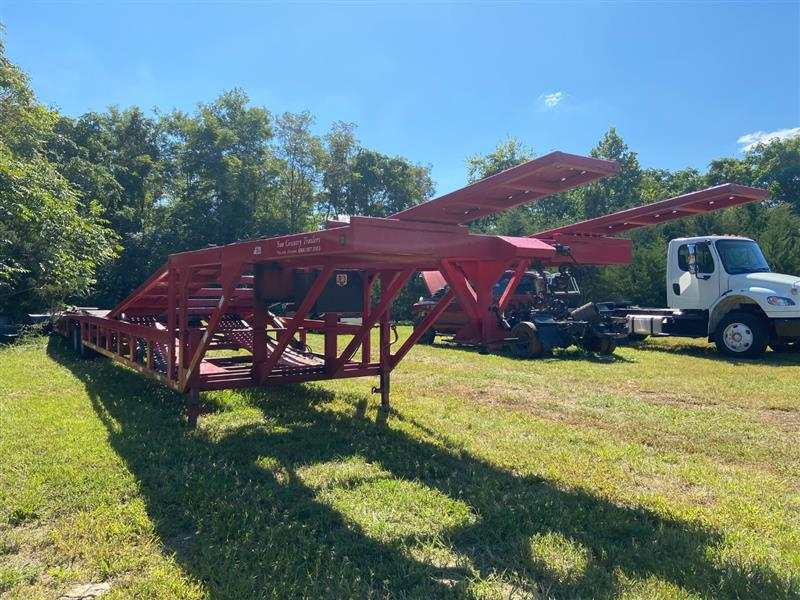 2018 SUN COUNTRY DROP DECK 53 FOOT.  4/5 CAR HAULER  DROP DECK