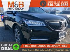 2016 ACURA MDX w/Tech/w/Tech/AcuraWatch Plus