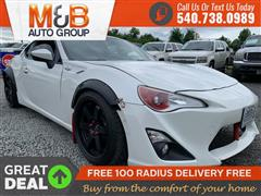 2013 SCION FR-S 6MT **1 OWNER VEHICLE// LOW MILES // FINANCING AVA