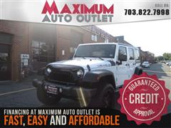 2015 JEEP WRANGLER UNLIMITED Lifted Sport 4X4 Hard Top
