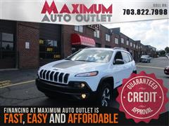 2014 JEEP CHEROKEE TRAILHAWK 4WD WITH NAVIGATION