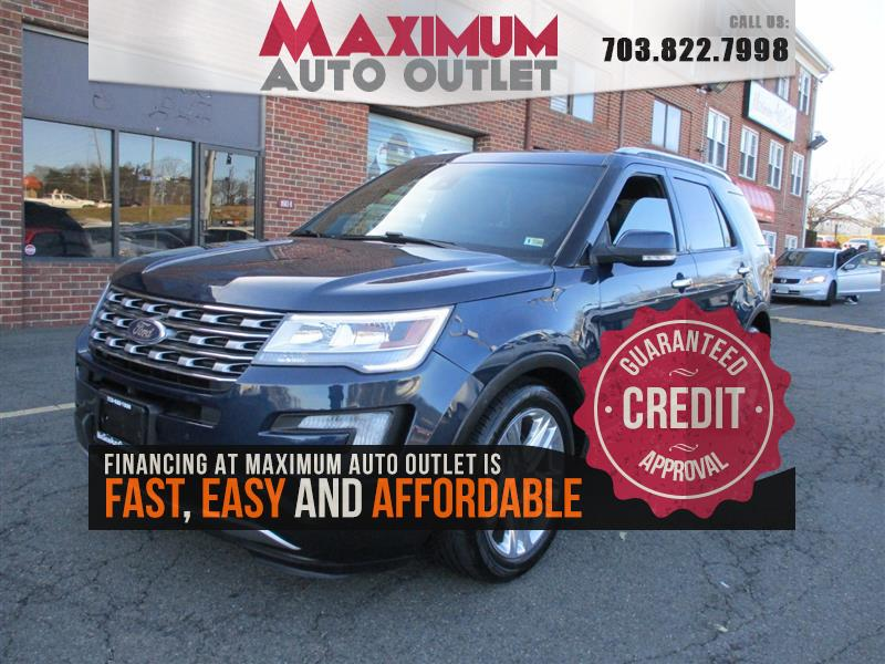 2016 FORD EXPLORER LIMITE Limited w/ DVD and Navi