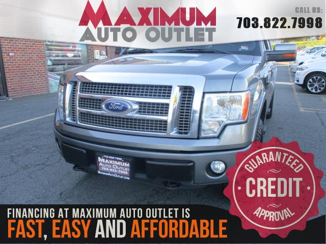 2011 FORD F150 Lariat SuperCrew 4WD