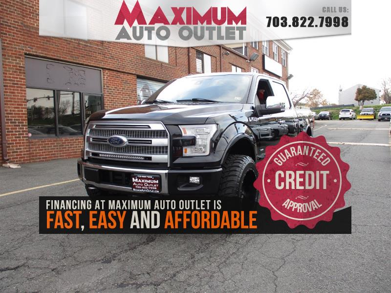 2016 FORD F150 PLATINUM 4WD