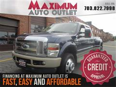 2008 FORD SUPER DUTY F-350 DRW King Ranch 4WD Dually