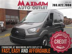 2016 FORD TRANSIT CARGO VAN T-150 Medium Roof