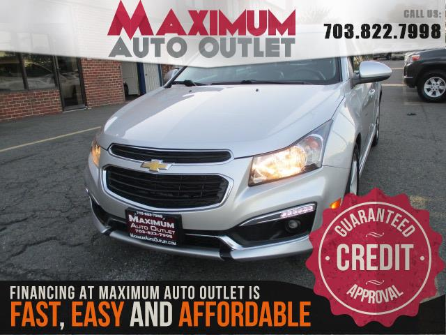 2015 CHEVROLET CRUZE LT LT w/RS Package