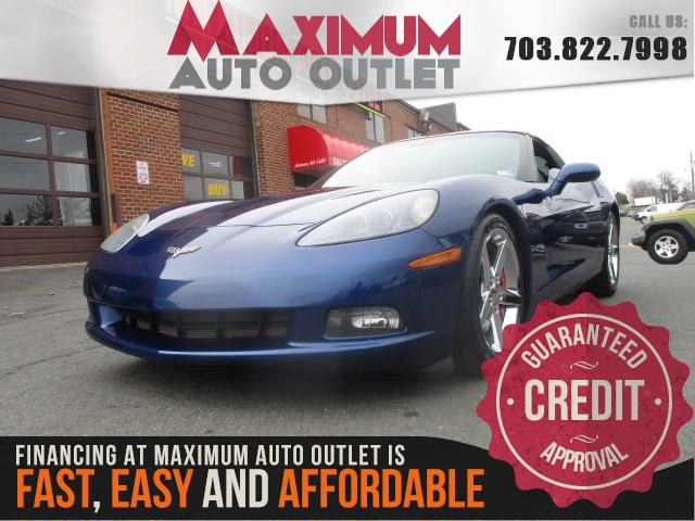 2007 Chevrolet Corvette Targa Top Manassas Park Virginia