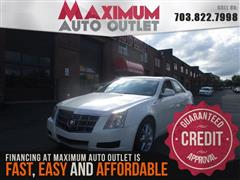 2009 CADILLAC CTS Panoramic Roof