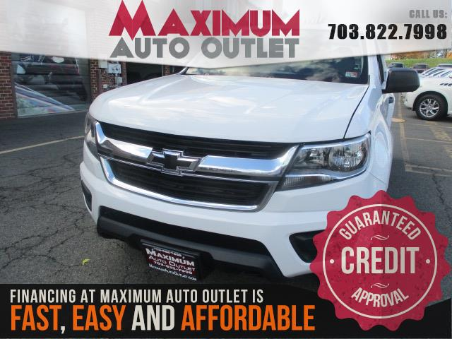 2016 CHEVROLET COLORADO WT EXTENDED CAB 4WD