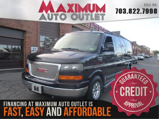 2008 GMC SAVANA PASSENGER LIMITED SE CONVERSION VAN