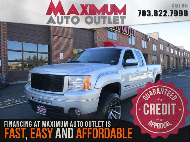 2011 GMC SIERRA 1500 SLE EXTENDED CAB 4WD