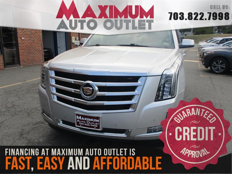 2015 CADILLAC ESCALADE 4WD Luxury Package