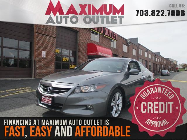 2012 HONDA ACCORD COUPE EX-L V6 w/ Nav