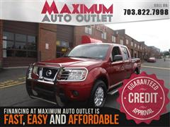 2015 NISSAN FRONTIER 4WD CREW CAB SV 4WD