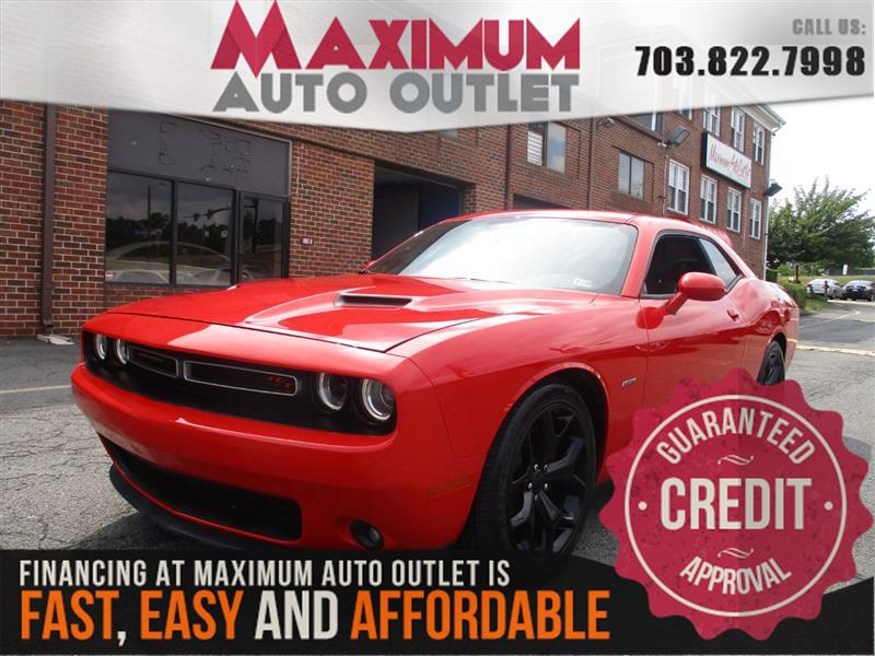 2015 DODGE CHALLENGER R/T 6 SPEED MANUAL