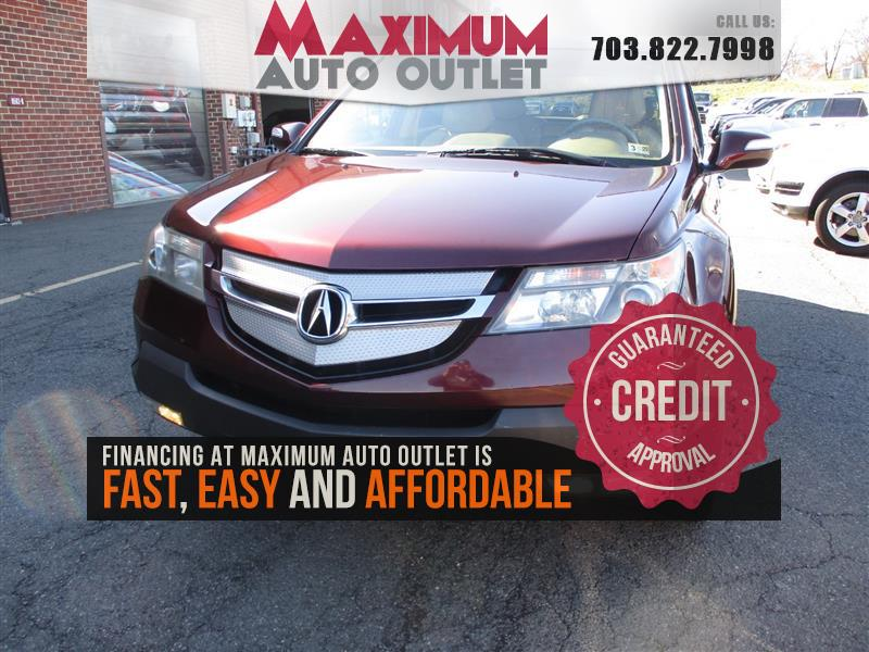 2008 ACURA MDX  SH-AWD w/ Tech & Entertainment pkg