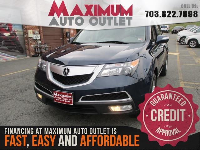 2012 ACURA MDX TECH SH-AWD with Technology Package