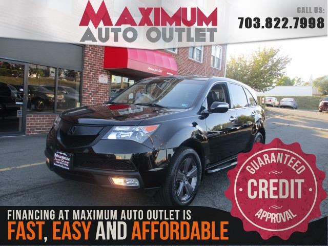 2012 ACURA MDX  SH-AWD w/ Tech & Entertainment pkg