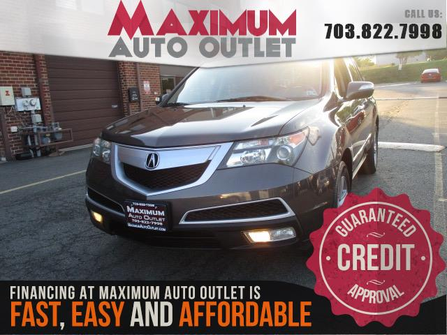 2011 ACURA MDX SH-AWD TECHNOLOGY AND ENTERTAINMENT PACKAGE