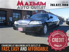 2009 LINCOLN TOWN CAR Executive w/Limousine Pkg