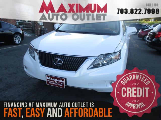 2010 LEXUS RX 350 AWD w/ Backup Camera
