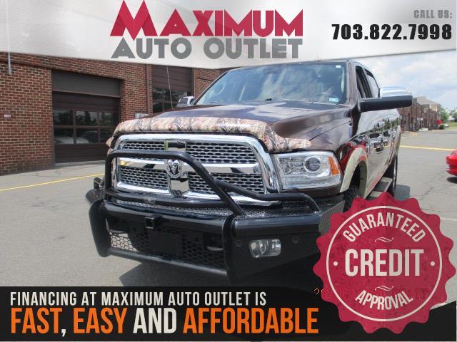 2015 RAM 2500 LARAMIE LONGHORN CREW CAB 4X4