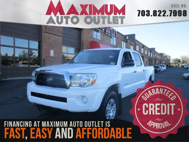 2008 toyota tacoma double cab prerunner sr5 v6 manassas park virginia maximum auto outlet. Black Bedroom Furniture Sets. Home Design Ideas