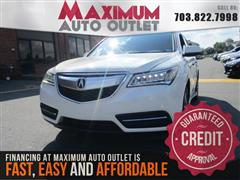 2014 ACURA MDX Technology/Entertainment Pkg.