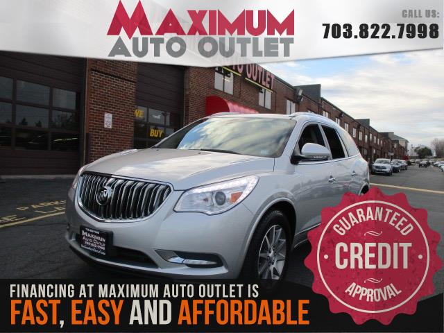 2015 BUICK ENCLAVE LEATHER AWD W NAV 3RD ROW