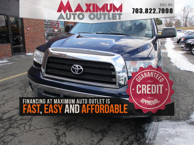 2008 TOYOTA TUNDRA DOUBLE CAB SR5 4WD